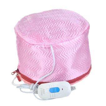 Startup หมวกอบไอน้ำTHERMO CAP TV สีชมพู