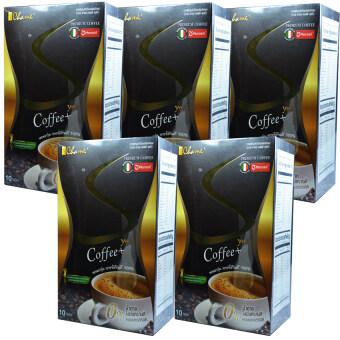 Chame' Sye Coffee Plus ชาเม่ ซายน์ กาแฟลดน้ำหนัก เกรดพรีเมี่ยม บรรจุ 10 ซอง (5 กล่อง)