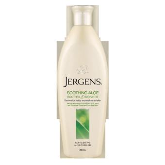 Jergens Soothing Aloe Refreshing Moisturiser 250ml 1 ชิ้น