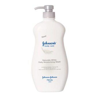 Johnson Body Care ครีมอาบน้ำ เนเชอรัลลี่ ไวท์ 750 มล
