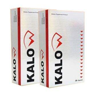 Kalow ผลิตภัณฑ์เสริมอาหารดูแลน้ำหนัก 30แคปซูล ( 2 กล่อง )