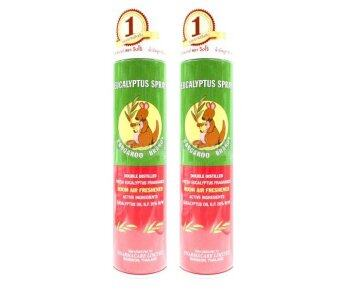 Kangaroo Eucalyptus Spray จิงโจ้ ยูคาลิปตัส สเปรย์ 300 ml. 2กระป๋อง