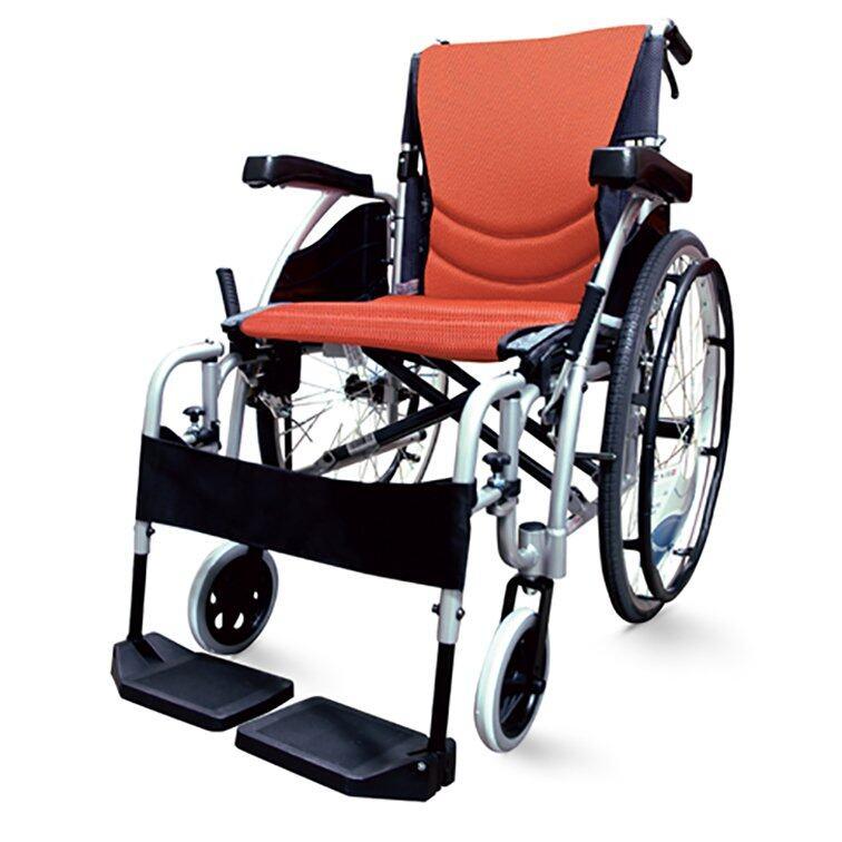 ลดสุดๆ Karma รถเข็นคร่าม่า ผู้ป่วยคนชรา Wheelchair คนแก่ วีลแชร์ พับได้  รุ่น S-Ergo 125Q