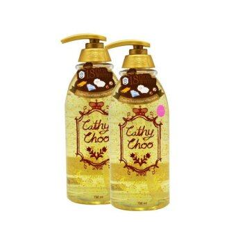อยากขาย karmart Cathy Choo 24K Active Gold Fragrance Shower Gel เจลอาบน้ำทองคำ 750ml. (2 ขวด)