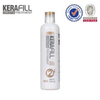 Kerafill hair straightening products ผลิตภัณฑ์ยืดเส้นผม ผลิตภัณฑ์รักษาเส้นผม keratin 280ml