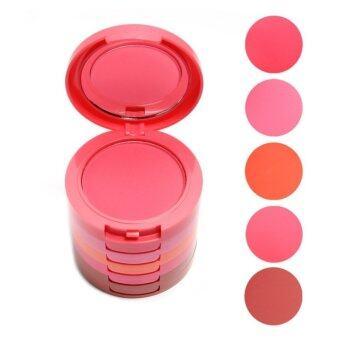 Kiss Beauty 5 Color Blusher บลัชออนคอนโด 5 เฉดสี - 2