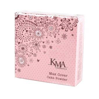 KMA Max Cover Cake Powder เคเอ็มเอ แม็ค คัฟเวอร์ เค้ก พาว์เดอร์13.5 g. N7Warm Beige โทนสีผิวเหลือง