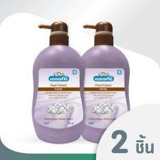 KODOMO โคโดโม แฟมิลี่ ครีมอาบน้ำ เพิร์ลคิส 750 มล. 2 ขวด