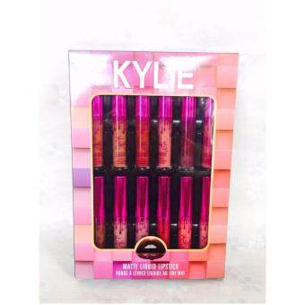 Kylie Matte Liquid Lipsticks Rouge A Levres Au Fini Mat ลิปเนื้อแมท 12 pcs