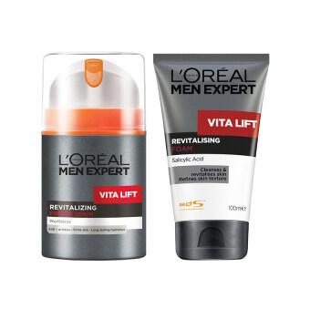 L'Oreal Paris MEN VITALIFT FOAM 100ML +MEN VITALIFT CREAM 50ML