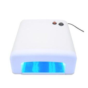 LAMP เครื่องอบเล็บสีขาว อบเล็บ อบเจล อบสี อบต่อเล็บ ขนาดใหญ่ ระบบUVครบครัน