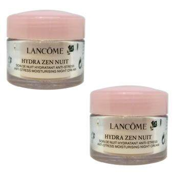 LANCOME Hydra Zen Nuit Night Cream (15 ml. x 2 กระปุก)