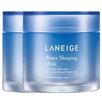 LANEIGE Water Sleeping Mask สลีปปิ้งมาสก์เติมความชุ่มชื้น 15ml. (2กระปุก)