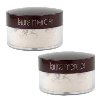 Laura Mercier Loose Setting Powder Translucent แป้ง ลอร่าทรานลูเซ้น แป้งฝุ่นขายดีอันดับ 1 ในหลายประเทศทั่วโลก 3.5g (2กระปุก)