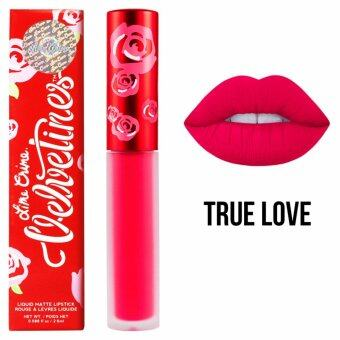 Lime Crime Velvetines #True Love 2.6 ml. (Pinky Red)