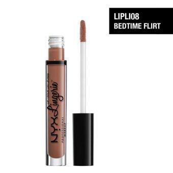 นิกซ์ โปรเฟสชั่นแนล เมคอัพ ลิป ลองเจอเร - LIPLI08 เบดไทม์เฟลิร์ตNYX Professional Makeup Lip Lingerie - LIPLI08 Bedtime Flirt