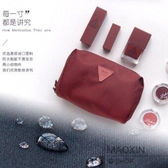 Maoxin ของใหม่ กระเป๋าใส่เครื่องสำอาง รุ่น MX-5 red
