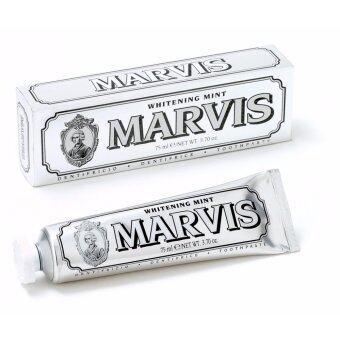 Marvis Toothpaste สูตร Whitening Mint สูตรช่วยฟันขาว