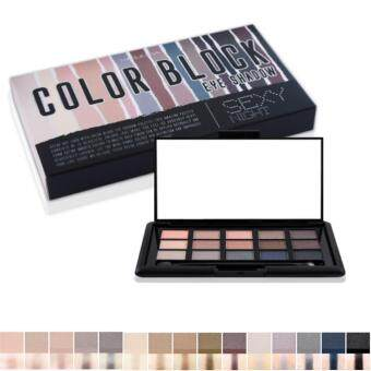 ขายด่วน Mei linda Color Block Eye Shadow Palette (#Sexy Night) (อายแชโดว์)