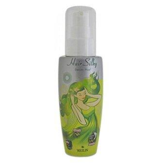 Meilin Hair Silky Serum Plus+ (Green) เมลิน แฮร์ซิลกี้ ซีรั่ม พลัส(กรีน) 70 กรัม (1 ขวด)