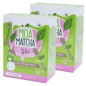 Moa Matcha โมเอะ มัทฉะ อาหารเสริมควบคุมน้ำหนัก