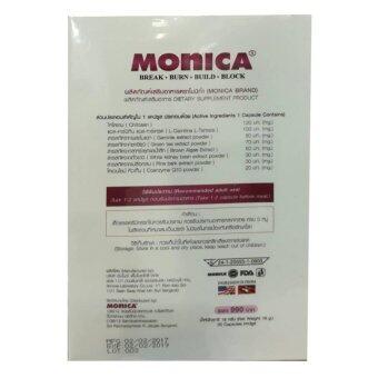 Monica โมนิก้า อาหารเสริมหน้าท้องยุบลดพุง