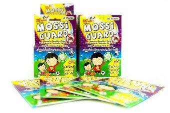 ประกาศขาย Mossi Guard แผ่นแปะกันยุง (1 ซอง มี 2แผ่น) จากธรรมชาติปลอดภัยไม่มีสารเคมี * 12 ซอง