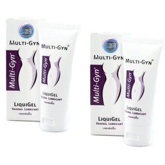 Multigyn Liquigel เจลหล่อลื่น60 ml (2 กล่อง)