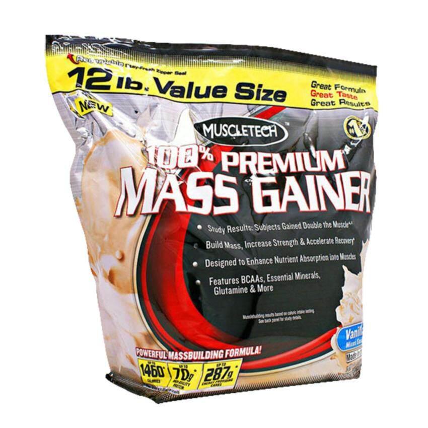 รีวิว Muscletech Weight Gainer Set 12lb (Vanilla) ขายดี