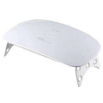 อยากขาย Nail Dryer Mini 15 Led UV Nail Curing Lamp for Fingernail &Toenail Gel Polish (white)US - intl