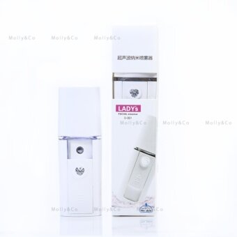ต้องการขาย Nano Facial Steamer เครื่องพ่นสเปรย์น้ำแร่นาโนแบบพกพา (สามารถเติมน้ำได้)