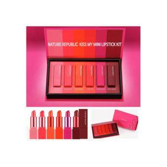 Nature Republic Kiss My Mini Lipstick Kit 6 colors Limited Edition