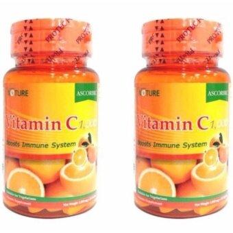 ขาย Nature VitaminC Vitamin USA วิตามิน ซี ธรรมชาติ บุรรจุ 30 เม็ด/กระปุก ( 2 กระปุก )