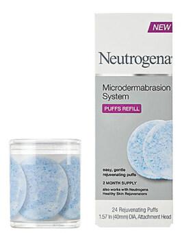 Neutrogena Microdermabrasion - Puffs Refill (24 แผ่น)