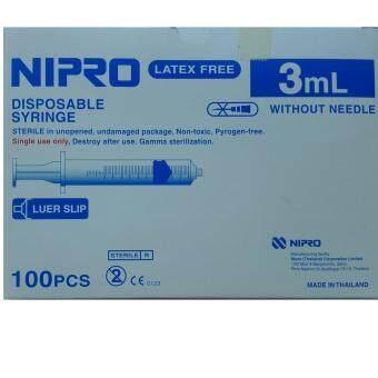 NIPRO SYRING 3ML
