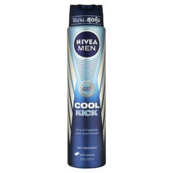 NIVEA FOR MEN นีเวียฟอร์เมน ดีโอสเปรย์คูลคิก 250มล.