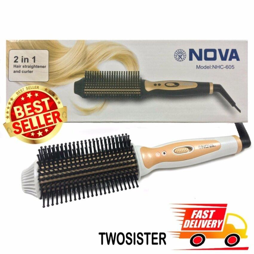 Nova Twosister หวีแปรงไฟฟ้า รุ่น nova 605 image