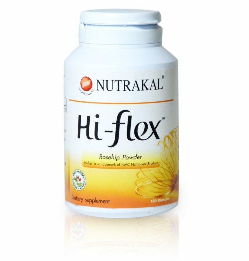 ลดราคา NUTRAKAL Hi-flex (นูทราแคล ไฮ-เฟล็กซ์) 120 แคปซูล