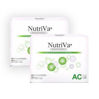 NutriVa® AC ช่วยลดการเกิดสิวทั้งสิวอุดตันสิวหัวดำและลดการอักเสบของสิว ช่วยให้สิวยุบเร็ว 10 เม็ด2 กล่อง