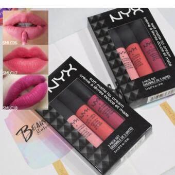 NYX Soft Matte Lip Cream SMLC SET 05