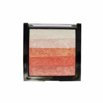 ODBO อายแชโดว์ชิมเมอร์ Colors Shimmer Bricks #04