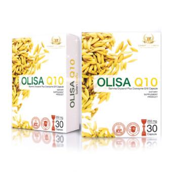 โอลิซ่า คิวเท็น [Olisa Q10] ช่วยให้นอนหลับลึก ปรับสมดุลฮอร์โมนป้องกันริ้วรอยก่อนวัย [30แคปซูล/กล่อง]