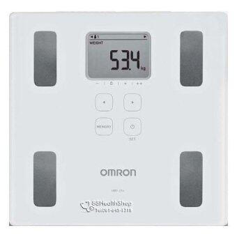 Omron เครื่องชั่งน้ำหนัก วิเคราะห์ไขมัน รุ่น HBF-214 แสดงค่า BMI,BODY AGE (ของแท้ รับประกันศูนย์ omron)