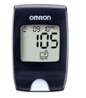 OMRON เครื่องวัดน้ำตาลในเลือด รุ่น HGM - 111 (Black)