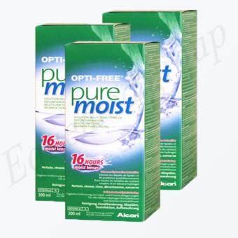 Opti-Free Pure Moist 300 ml. (3 ขวด)