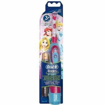 Oral-B Kids Stages Power Electric Toothbrush Princess Design แปรงสีฟันไฟฟ้า ลายการ์ตูนเจ้าหญิงดิสนี่ย์