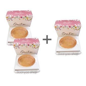 โอริต้า ดรีม โซป Orita Dream Soap สบู่หน้าเด็ก ของ ปูเป้ อรหทัย โปรโมชั่น ซื้อ 2 ก้อน แถม 1 ก้อน