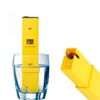 สนใจซื้อ เครื่องวัดค่า PH meter ดิจิตอลแบบปากกา - สีเหลือง