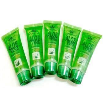 Polvera Aloevera Fresh Gel เจลว่านหางจระเข้รักษาสิว 15g. 5 หลอด