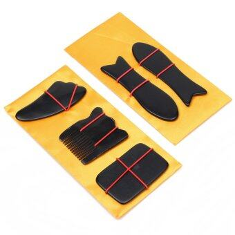 ต้องการขาย Portable Chinese Traditional Gua Sha Acupuncture Massage NaturalTool Set Guasha (Intl)